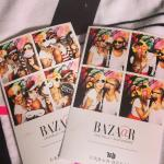 Love a photo booth at The Harpers Bazaar party at The Parker