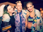 Katy Perry, Jeremy Scott and Rita Ora